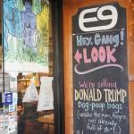 Ein Trump-Kackbeutel - noch ohne Scheiße