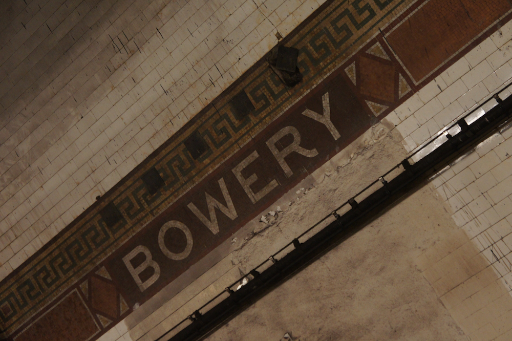 Bowery Subway