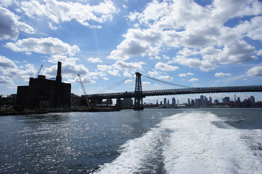 East River Ferry Williamsburg Bridge